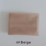 Ankia Swiss Lace Net For Making Lace Wig Closure Foundation Hairnet Accessories lace frontal Swiss lace fabric