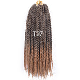 Azeeza 3D Cubic Twist Crochet Braids Hair Extensions 12 strands/pack Pixel twist