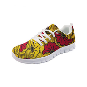 Dibaba African Print Women Running Shoes Outdoor Sports Lightweight Trainers