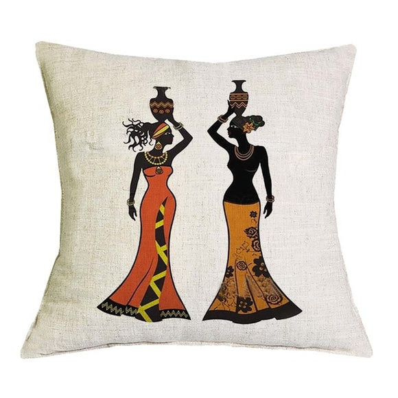 Isoken African Wax Cotton Fabric Handmade Decorative Throw Pillow Case Covers African Printed Cushion Case Home Arts