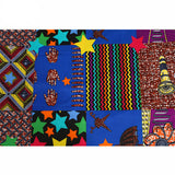Dora African Wax Print polyester Ankara Fabric African Print Fabric Real Dutch Hollandais Per yard