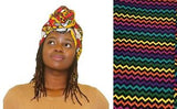 African Print Headwraps African Wax Head Wrap Hair Accessory African Scarf African Turban African Headtie