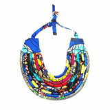 Ayira African Necklace Jewelry Ethnic Statement Necklace Nigerian wedding Ghana wedding