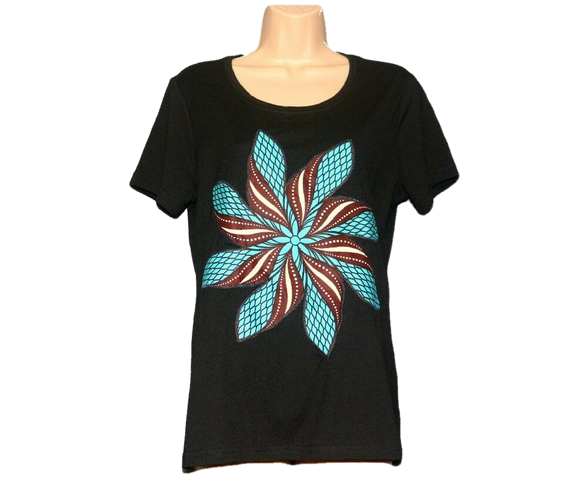 Rihanna New Ladies African Ankara Tshirt Cotton Women's Tee Shirt T-Shirt  Size Medium