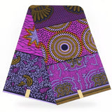 Bianca African Wax Print polyester Ankara Fabric African Print Fabric Real Dutch Hollandais Per yard