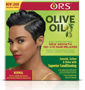 ORS Olive Oil New Growth No Lye Relaxer Kit Normal Extra Strength Hair Care UK