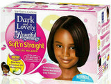 Dark and lovely Beautiful Beginning Kids No Lye Relaxer Kit Fine Normal Hair UK