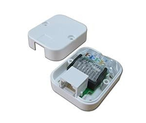 Tool-Less 10/100/1000 Ethernet Data Jack - GF2111 - Qty 1 - {product_type] - Ethernet Extender - www.netsys-direct.com