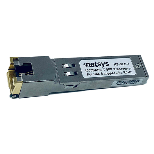 1000Base-T Ethernet, SerDes SFP, RJ-45, 100m, Network Grade Copper - NS-GLC-T