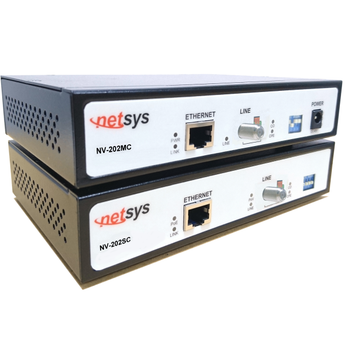 Kit - VDSL2 Ethernet Extender (Over Coax or Twisted-Pair) with Remote Power & PoE - NV-202RPCEKIT - {product_type] - Ethernet Extender - www.netsys-direct.com