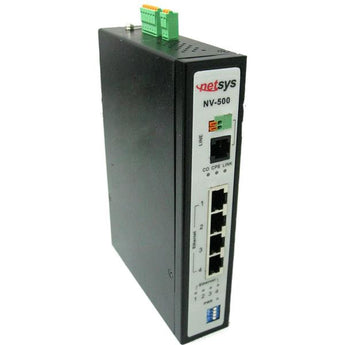 Industrial Grade VDSL2 Ethernet Bridge - NV-500I - {product_type] - Ethernet Extender - www.netsys-direct.com