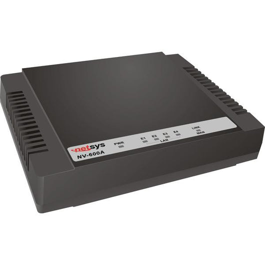 Managed VDSL2 CPE Modem/Router - NV-600A - {product_type] - Ethernet Extender - www.netsys-direct.com