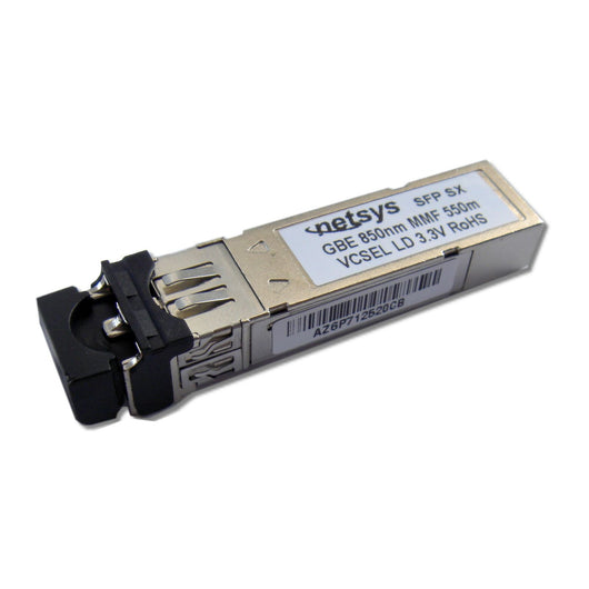 SFP, Duplex LC Connector, 1550nm DFB LD for Single Mode Fiber, RoHS Compliant - {product_type] - Ethernet Extender - www.netsys-direct.com