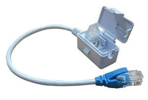 Tool-Less 10/100 Ethernet Pigtail Connector - TA45