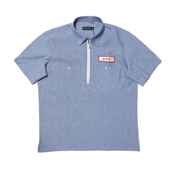 Quarter Zip Work Shirt