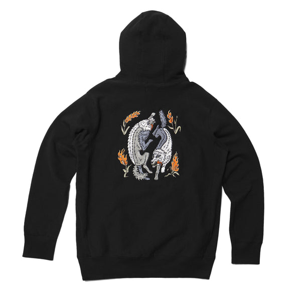 Raised by the Wolves Hooded Sweatshirt