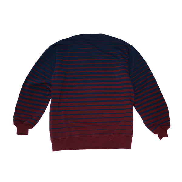 Bleeding Stripe Crewneck Sweater