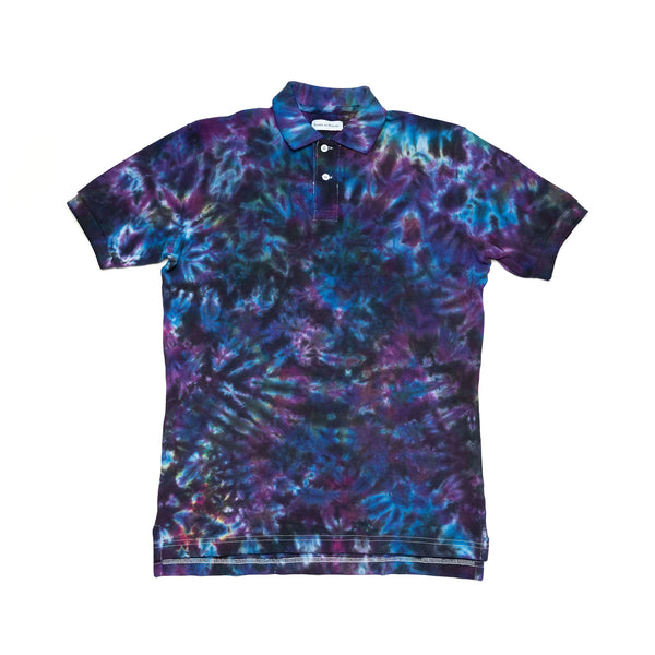 Tie-Dyed Polo Shirt