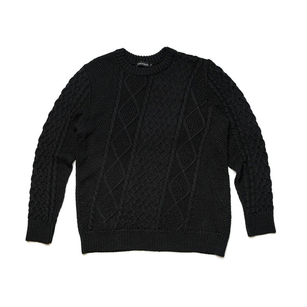 McQueen Cable Knit Sweater
