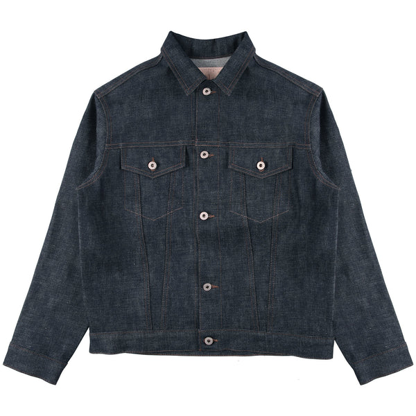 RBW x Naked & Famous Fuck Off Selvedge Denim Jacket