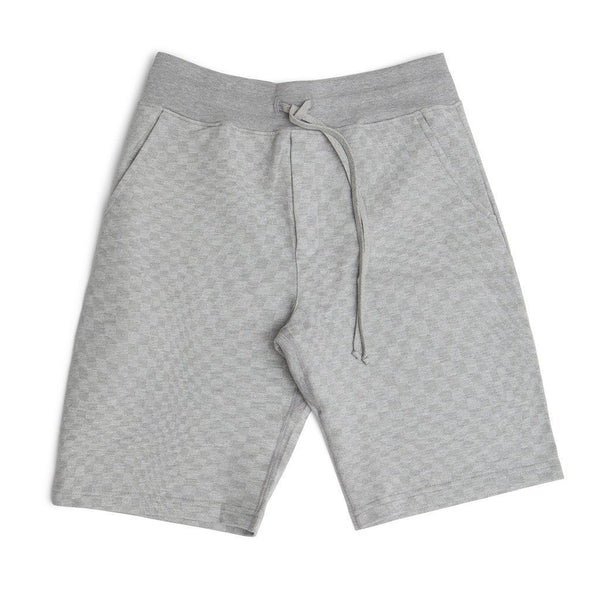 Warped Checkerboard Sweatshorts - Raised by Wolves  - 1