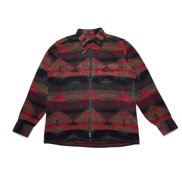 Woodlands Zip Flannel