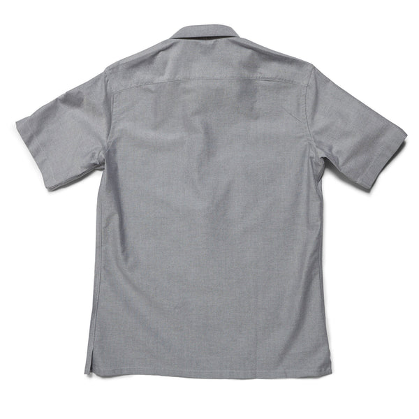 Short Sleeve 1/4 Zip Oxford Shirt