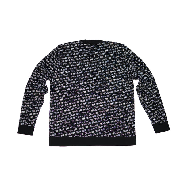 Fuck Off Jacquard Sweater