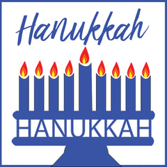 hanukkah clip art and backgrounds