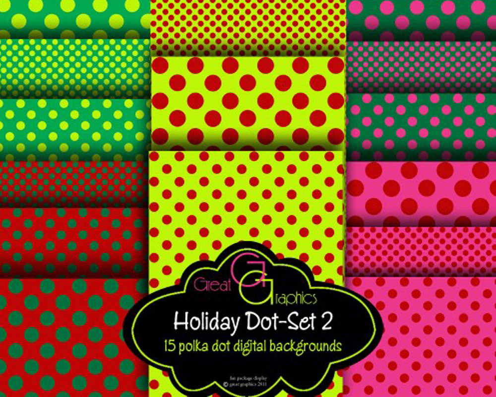 photograph about Christmas Printable Paper named Xmas Polka Dot Paper -Fixed 2 Xmas Electronic Paper Xmas Printable Invitation Paper Sbook Paper - Fast Down load