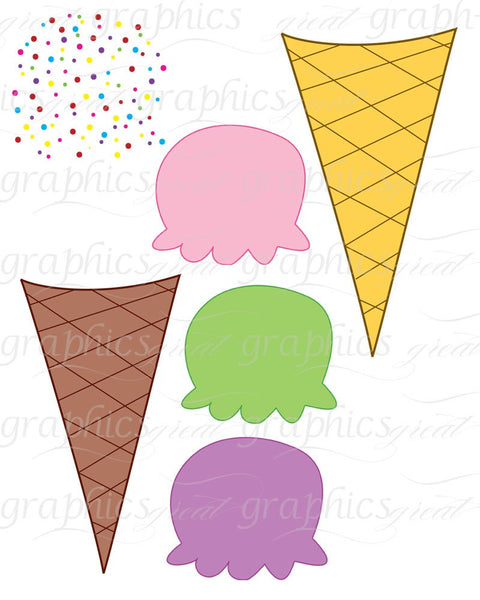 clip art ice cream party - photo #29