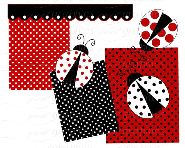 Ladybug Clipart Ladybug Clip Art Digital Lady Bug Clipart Lady Bug Clip Art Red Ladybug Digital Clip Art Instant Download
