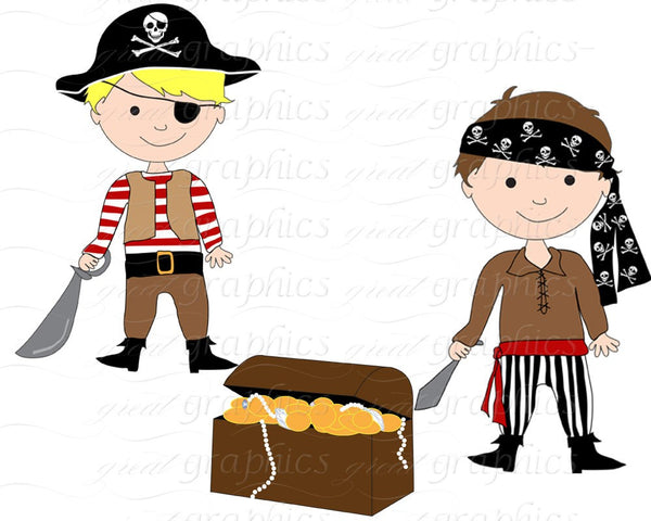 Pirate Boy Clipart Boy Pirate Pirate Digital Paper Pirate Clipart Pirate Party Paper Pirate Boy Instant Download