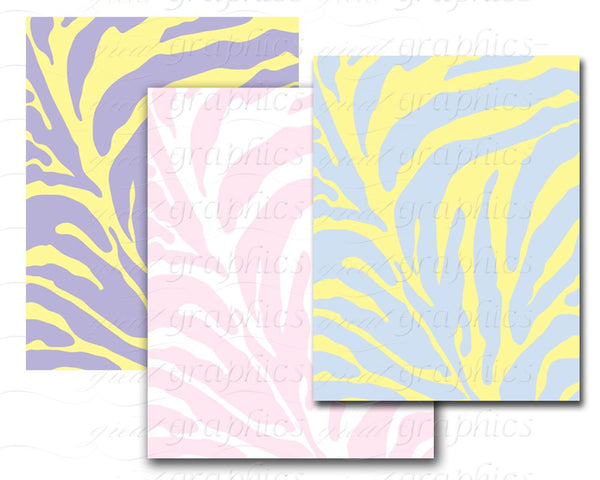 Zebra Print Paper Zebra Paper Digital Paper Pink Zebra Digital Paper Zebra Digital Instant Download