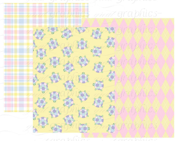 Preppy Baby Digital Paper Preppy Baby Boy Preppy Baby Girl Preppy Paper Preppy Prints Instant Download