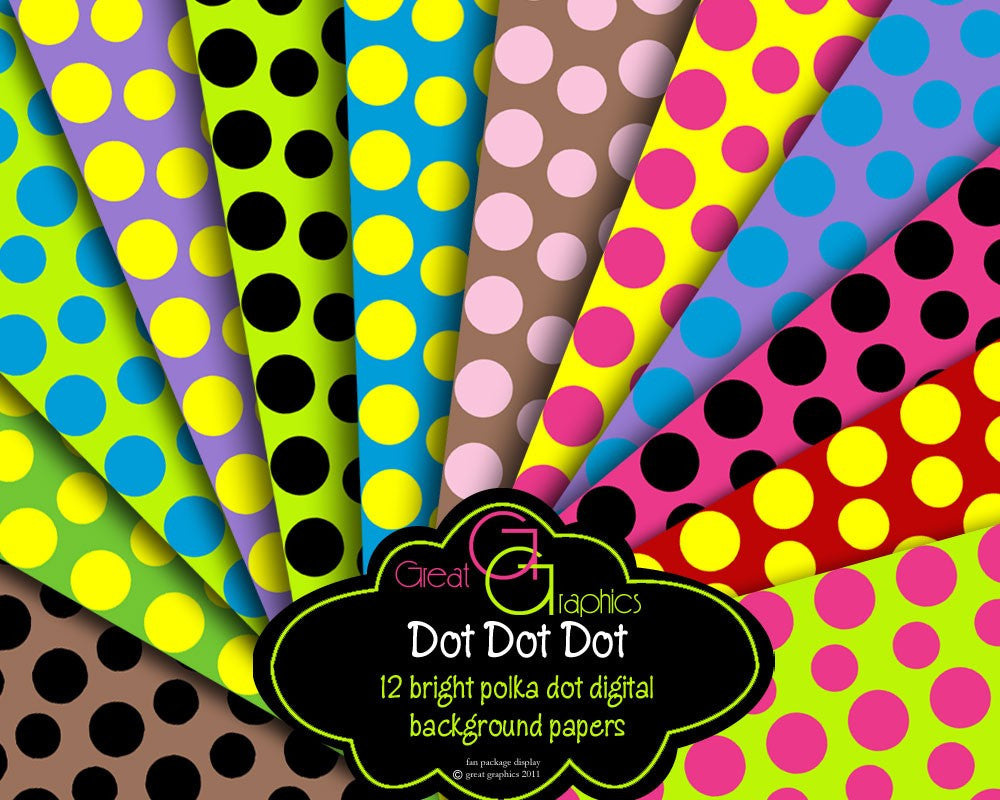 Polka Dot Background Dot Dot Dot, printable polka dot background sheets, polka dot digital papers