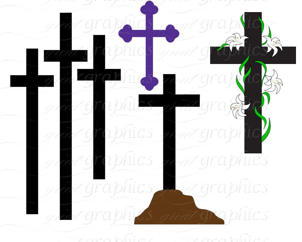 cross clip art cross digital clip art clipart cross easter cross rh greatgraphicsdesigns com christian cross clipart black and white