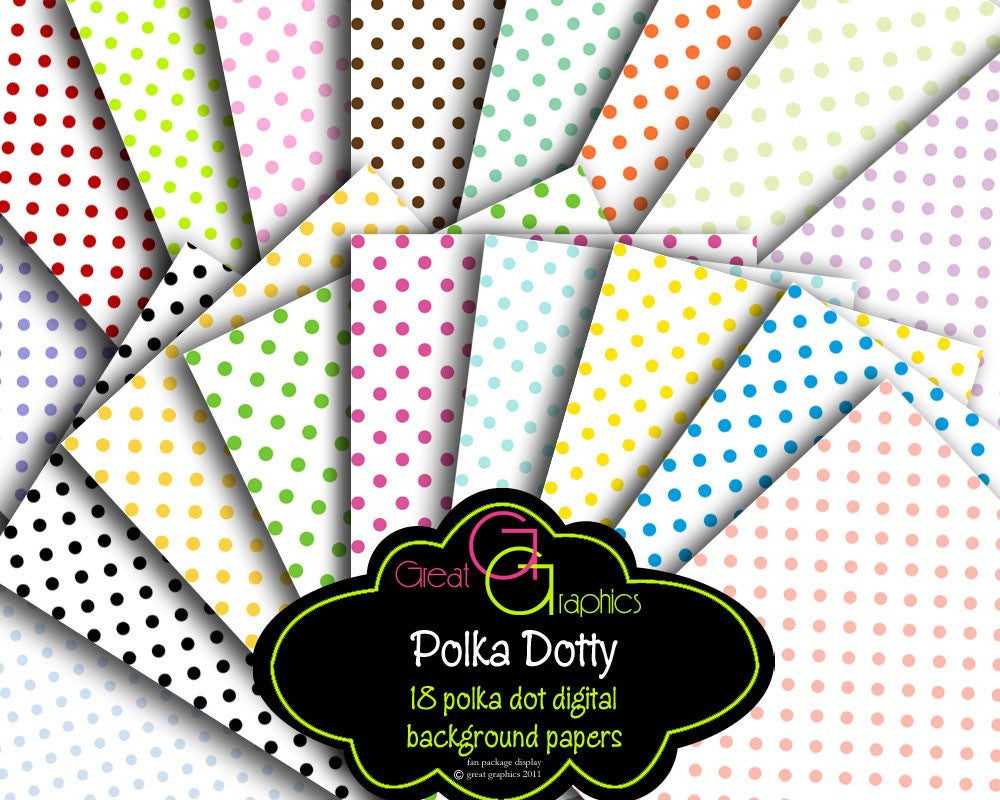 picture regarding Dotty Paper Printable named Electronic Polka Dot Paper Polka Dot Printable Polka Dots Polka Dot Heritage Celebration Paper Prompt Down load