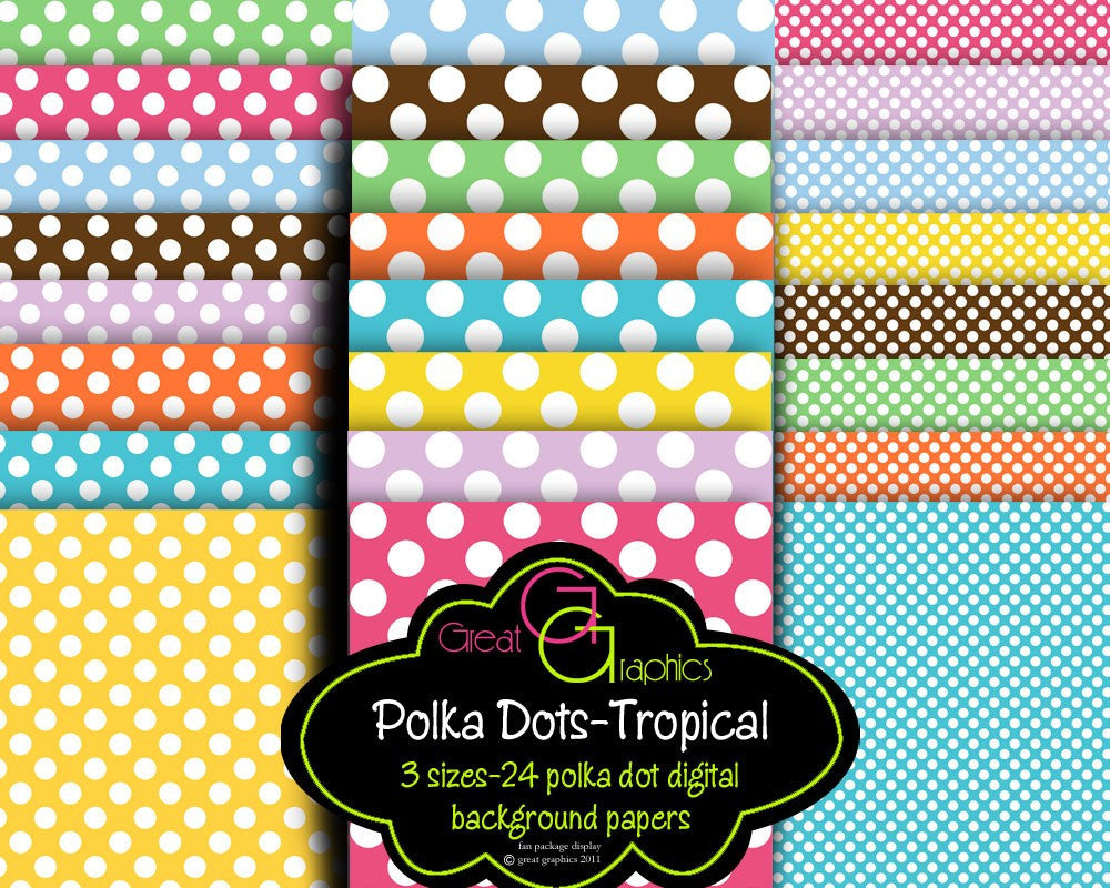 polka dot paper digital background paper polkadot digital paper