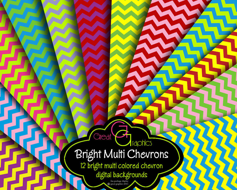 Chevron Digital Paper Chevron Paper Printable Chevron Background Chevron Printable Invitation Paper - Instant Download