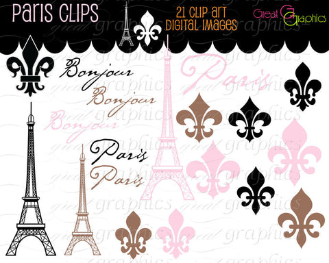 Paris Clip Art Eiffel Tower Clip Art Pink Eiffel Tower Clipart Digital Clip Art Pink Paris Clipart Paris Instant Download