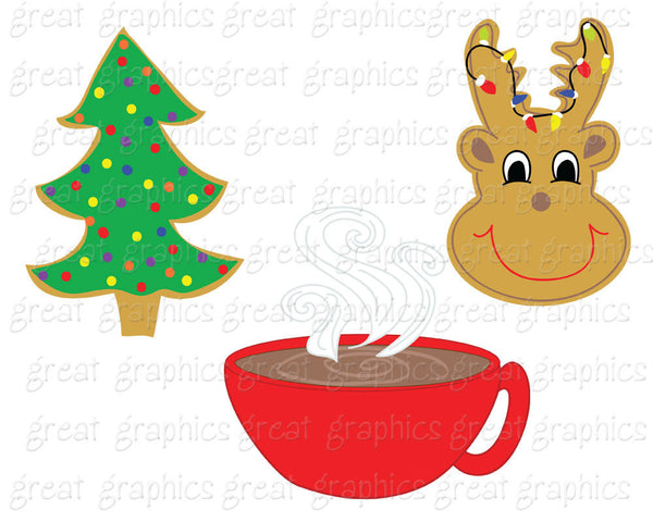 Christmas Clip Art Christmas Cookie Swap Clipart Printable Christmas Digital Clip Art  Christmas Party - Instant Download