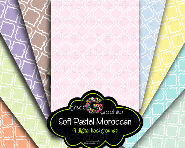 Moroccan Paper Digital Paper Moroccan Print Moroccan Digital Pattern Invitation Paper Instant Download
