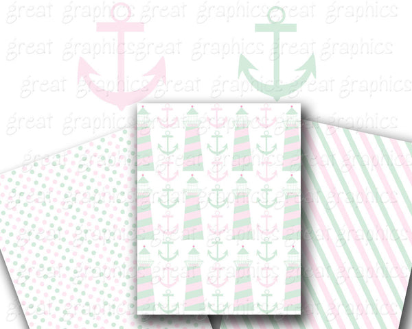 Baby Preppy Baby Shower Clip Art Digital Preppy Whale Pink Alligator Preppy Paper Printable Instant Download