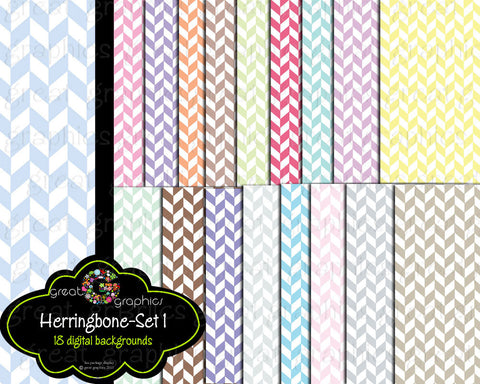 Digital Paper Herringbone Digital Paper Herringbone Paper Pastel Paper Background Pattern Printable Paper - Instant Download