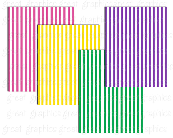 Striped Digital Paper Digital Stripe Background Paper Printable Stripe Paper Invitation Paper Instant Download