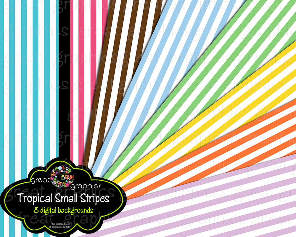 Digital Paper Stripes Stripe Paper Striped Paper Digital Paper Background Paper Printable Paper - Instant Download