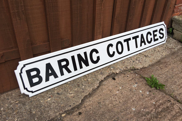 Where To Find Traditional Cast Street Signs