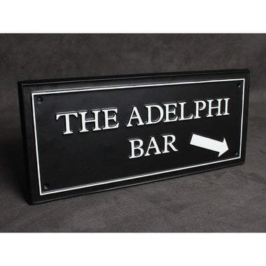 Bar Plaque-Business Signs-Signcast