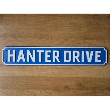 Cast Aluminium Custom Made Street Sign-Cast Traditional Street Signs-Signcast
